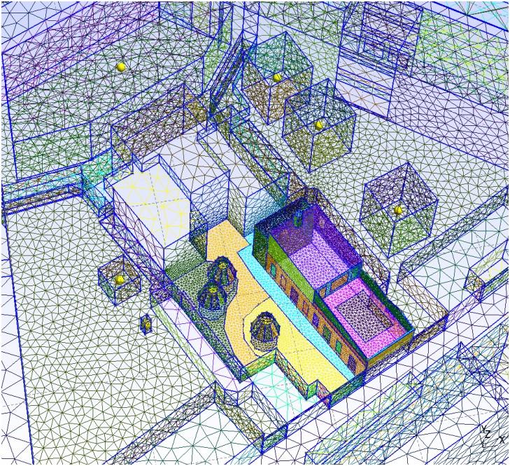 ETUDES – Simulation microclimat urbain SOLENEOS