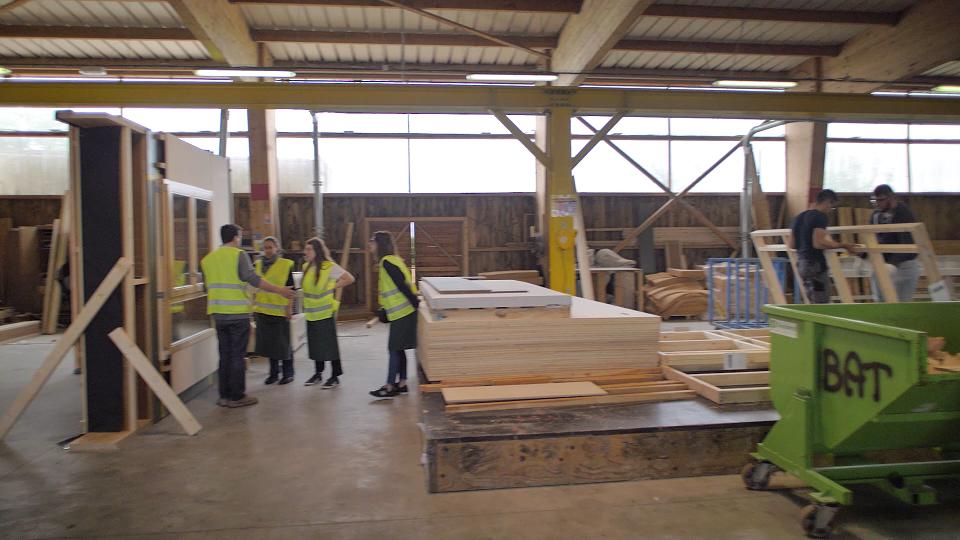 Carnet de Chantier Confiné 6 – Vidéo chantier n°1 SCE et préfabrication bois-paille