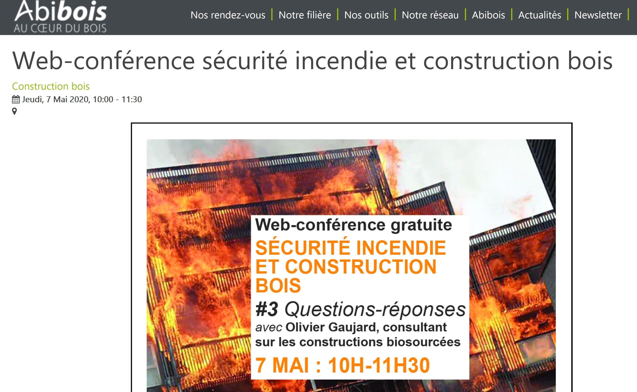 Carnet de Chantier Confiné 7 – Sécurité incendie