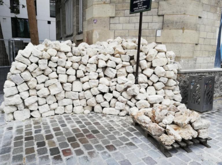 Démolition des murs du rez-de-chaussée